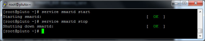 smartd-start-and-stop-commands