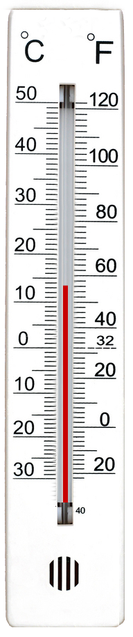 Making a thermometer using HTML5's Canvas (1/2)