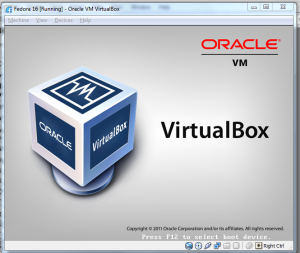 VirtualBox BVIOS screen