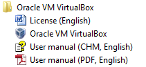 Starting VirtualBox