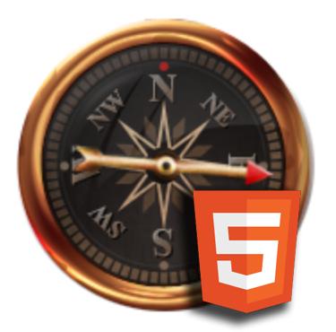 HTML 5 Canvas: An animated compass – Geek's Retreat