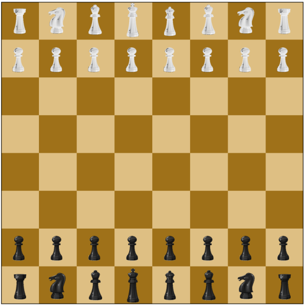 html5 canvas chess board