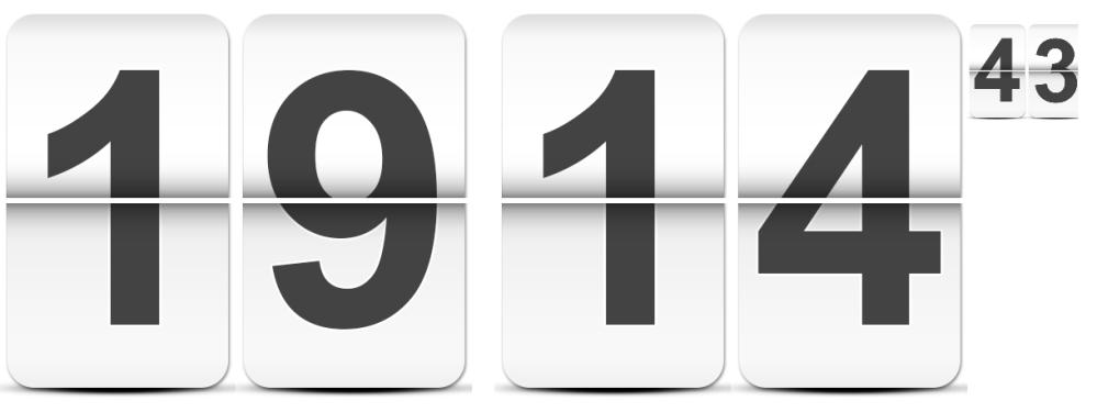 HTML 5 Canvas: An animated Digital Clock (1/2)