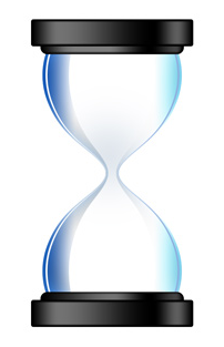 HTML5 Canvas - An egg timer (hourglass) with animated falling sand (4/5)