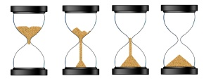4 stages of the egg timer