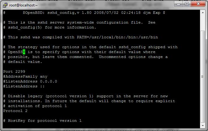 Changing-SSH-default-port-centos