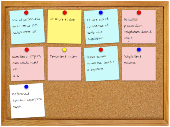 css3-message-board-with-sticky-notes