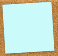 Sticky note with CSS