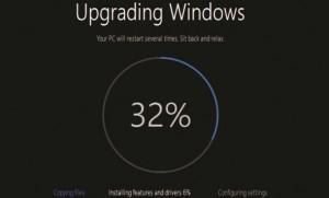 Windows 10 Progress Widget